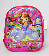 3D Дошкольный детский рюкзак Принцеса