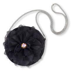 П, чорна Сумочка з квіткою для модниць Childrens place