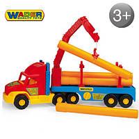 Строительный грузовик Wader 36540 Super Truck Трубовоз