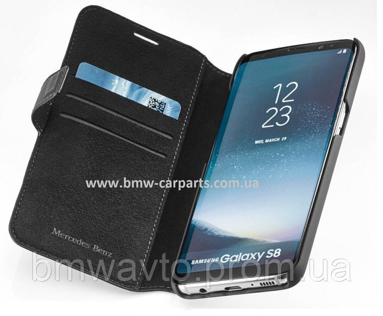 Чехол-книжка Mercedes-Benz Cover for Samsung Galaxy S8, фото 2