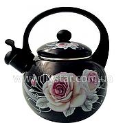 Чайник Эмалированный со свистком 2.5 Лтр. EDENBERG EB-1780