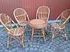 Плетеный комплект мебели из лозы