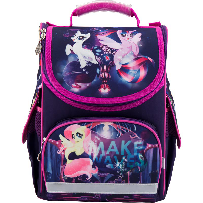 99122b0deed8 Рюкзак школьный каркасный Kite My Little Pony LP18-501S-2 - Интернет-магазин