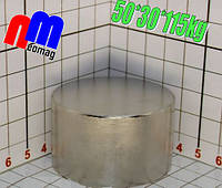 Магніт неодимовий пошуковий 50*30*115кг, N42, ПОЛЬША ☀ПІДБІР☀ОБМІН☀ГАРАНТІЯ☀, фото 1