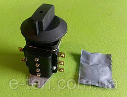 Перемикач термостійкий фенопластовый ППКП 25А / 220В для промислових печей, жарочних шаф Білорусь