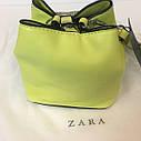 Сумка мини Zara с заклепками Зара (Zara Go Crossbody Mini Bag Studded Yellow), фото 3