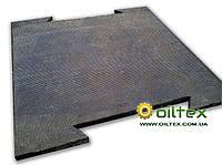 Резиновое покрытие с замком для спортзала и площадок 0,7м х 0,7м