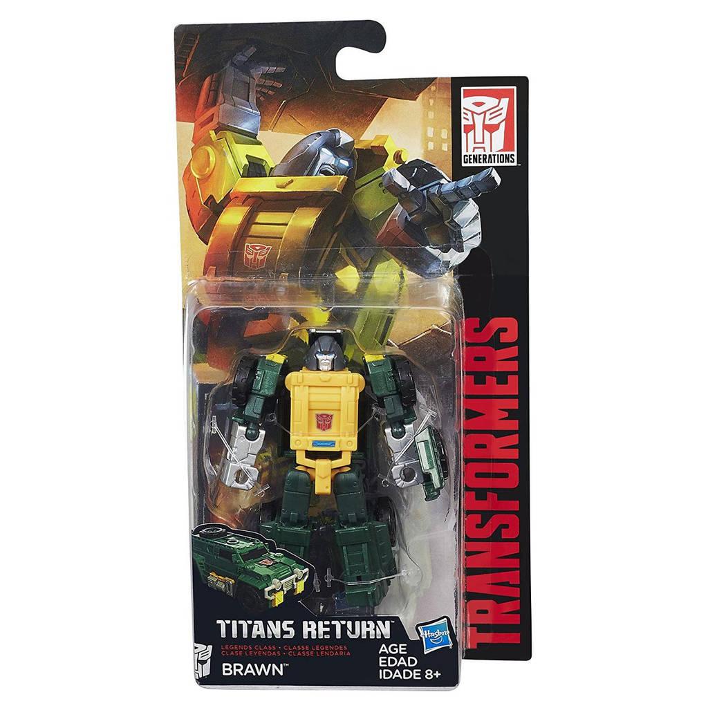 """Трансформер Броун (Силач) """"Поколения"""" - Brawn, Generations, Titans Return, Hasbro"""
