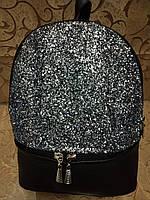 (Есть видео)Женский рюкзак искусств кожа качество городской спортивный стильный опт