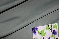 Ткань джерси зеленый хаки нюдовый!! , фото 1