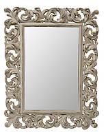"""Ретро зеркало в белой резной раме 63*82см Ti Amo""""white vintage"""""""