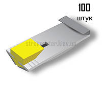 """Крепления для штукатурных маяков """"КДМ-2"""" (100 штук, пластик)"""