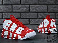 Чоловічі кросівки Nike Air More Uptempo x Supreme Suptempo Red 902290-600, фото 3