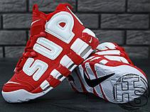 Чоловічі кросівки Nike Air More Uptempo x Supreme Suptempo Red 902290-600, фото 2