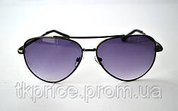 Стильные солнцезащитные очки авиатор 3203, фото 3