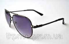 Стильные солнцезащитные очки авиатор 3203, фото 2
