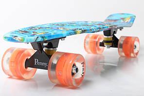 "Пенни борд Penny Style 22"" светящиеся Nemo (2T2034)"