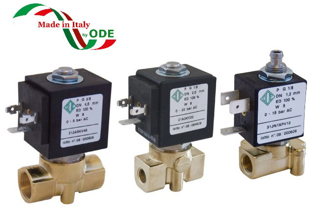 Электромагнитный клапан прямого действия ODE (Italy)