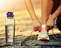 Спортивная бутылка для воды 0,7л Irak Plastik