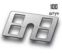 "Крепления для штукатурных маяков ""КДМ-1"" (100 штук, металл)"