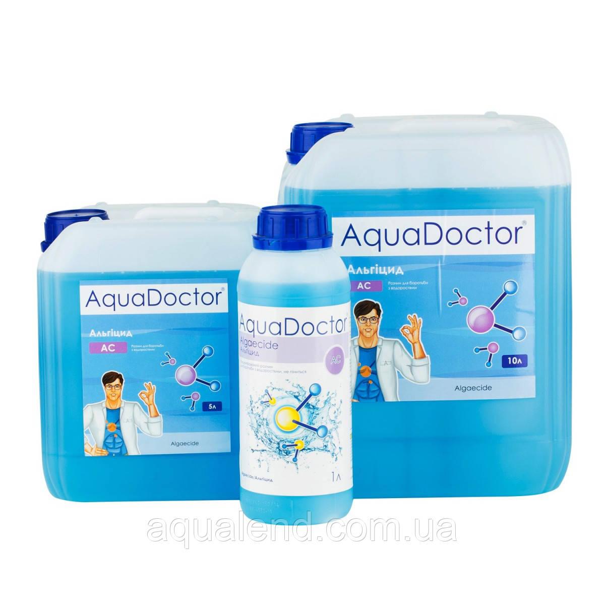 АС - засіб проти водоростей, альгіцид, 1л, AquaDoctor