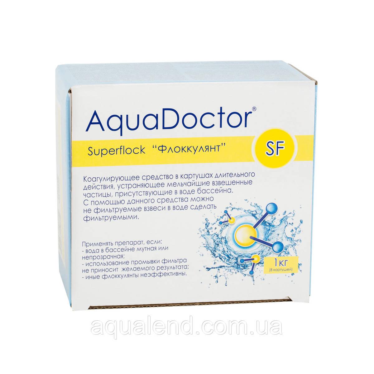 Флокулянт картушный Super Flock AquaDoctor, 1кг