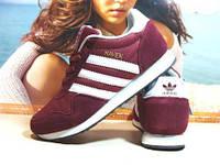 Кроссовки мужские Adidas Haven (реплика) бордовые 43 р., фото 1