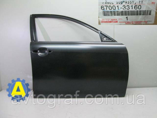 Дверь передняя левая и правая  на Тойота Камри (Toyota Camry) XV40 2006-2011