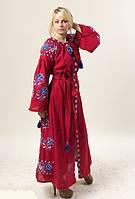 Сукня Паризька троянда, вишнева