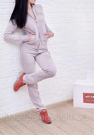 Женский спортивный костюм Dolce Gabbana цвет капучино Италия, фото 2