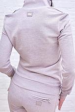 Женский спортивный костюм Dolce Gabbana цвет капучино Италия, фото 3