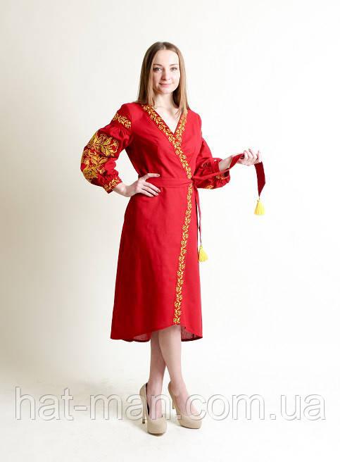 Сукня Ява, вишнева