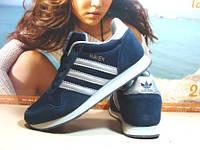 Мужские кроссовки Adidas Haven (реплика) синие 44 р., фото 1