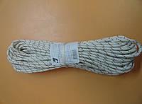 Веревка, шнур, фал, трос,канат альпинистский, статический, полиамидный  6мм , 900кг