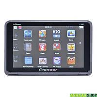 "GPS навигатор 5"" Pioneer P-561 4Gb Bluetooth + FM трансмиттер + AV-in IGO + Navitel + CityGuide"