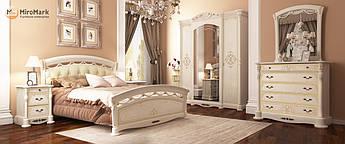 Спальня Роселла 6Д радика беж Миромарк