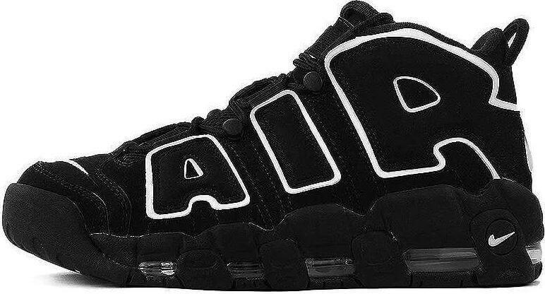 f684b854 Кроссовки Мужские Nike Air More Uptempo Black/White — в Категории ...