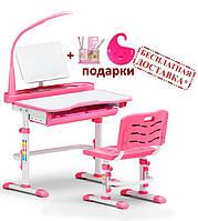 Комплект  Evo-kids (Детский стол 80 см + стул + подставка + лампа) Evo-18, 2 цвета