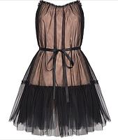 Комбинированное двойное платье, фото 2