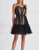 Комбинированное двойное платье, фото 1