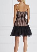 Комбинированное двойное платье, фото 3