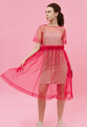 Сукня комбіноване футболка