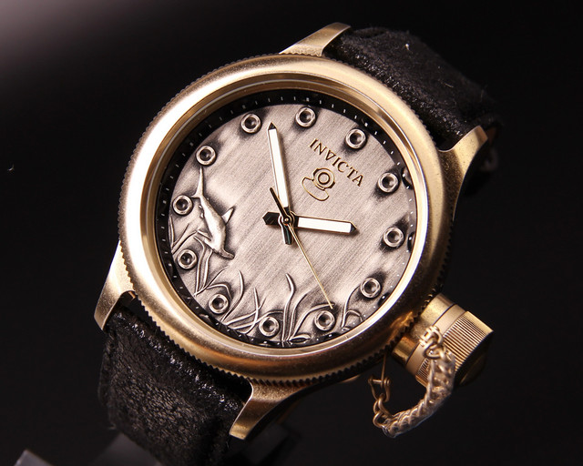 Мужские часы Invicta 17166 Russian Diver Shark, цена 6 090 грн ... ca3da556265