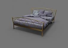 Кровать металлическая Жасмин-2, фото 3