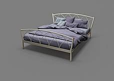 Кровать металлическая Жасмин-2, фото 2