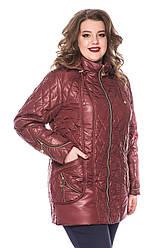 Красивые женские куртки демисезонные большие размеры