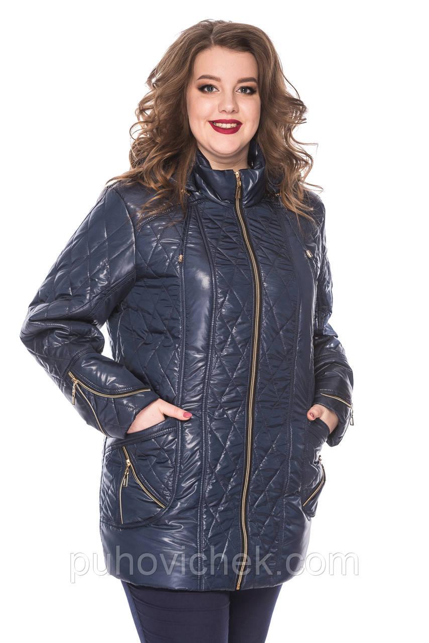06b469c0746 Женскую куртку стеганную весна осень удлиненную - Интернет магазин Линия  одежды в Харькове