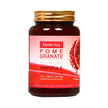 Универсальная сыворотка FARMSTAY Pomegranate All-In-One Ampoule, 250 мл, фото 2