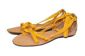 Сандалии женские Lacoste цвет желтый размер 35,5 арт 13SRW1674