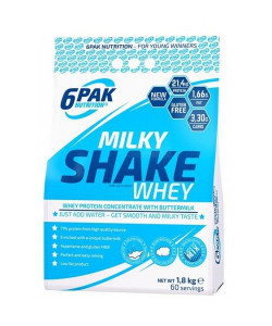 6PAK NUTRITION Milky Shake Whey 1800 g